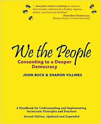 book cover — We The People: Consenting to a Deeper Democracy