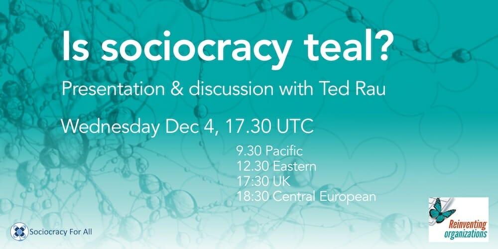 Is sociocracy teal?