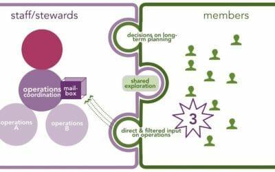 Platform co-op governance: deep democracy on scale