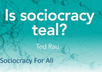 Is sociocracy 'teal'?