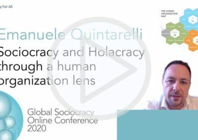 Sociocracy and Holacracy through a human organization lens