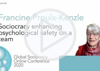 Sociocracy enhancing psychological safety on a team