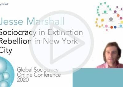 Sociocracy in Extinction Rebellion New York City