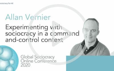 Allen Vernier: Experimenting with sociocracy in a top-down-context