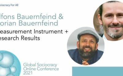 Measure instrument + research results (Florian Bauernfeind, Alfons Bauernfeind)