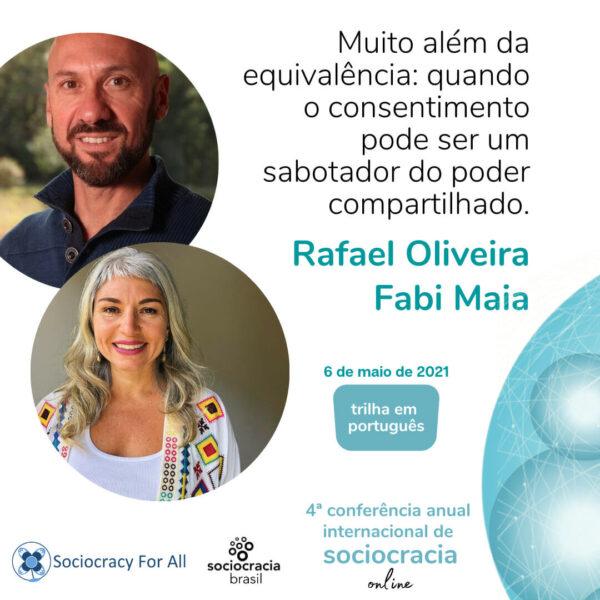 Muito além da equivalência: quando o consentimento pode ser um sabotador do poder compartilhado (Rafael Oliveira e Fabi Maia)
