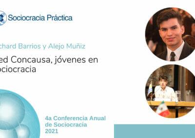 Red Concausa, Jóvenes en Sociocracia (Richard Barrios y Alejo Muñiz)