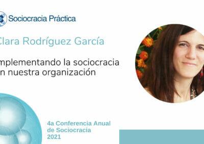 Implementando la sociocracia en nuestra organización (Clara Rodríguez García)