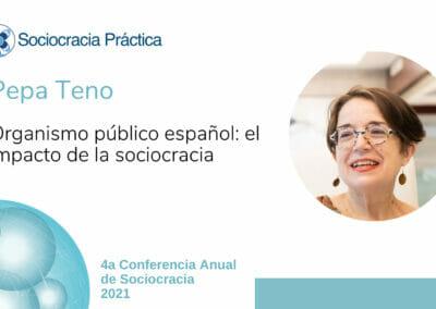 Organismo público español: el impacto de la sociocracia (Pepa Teno)
