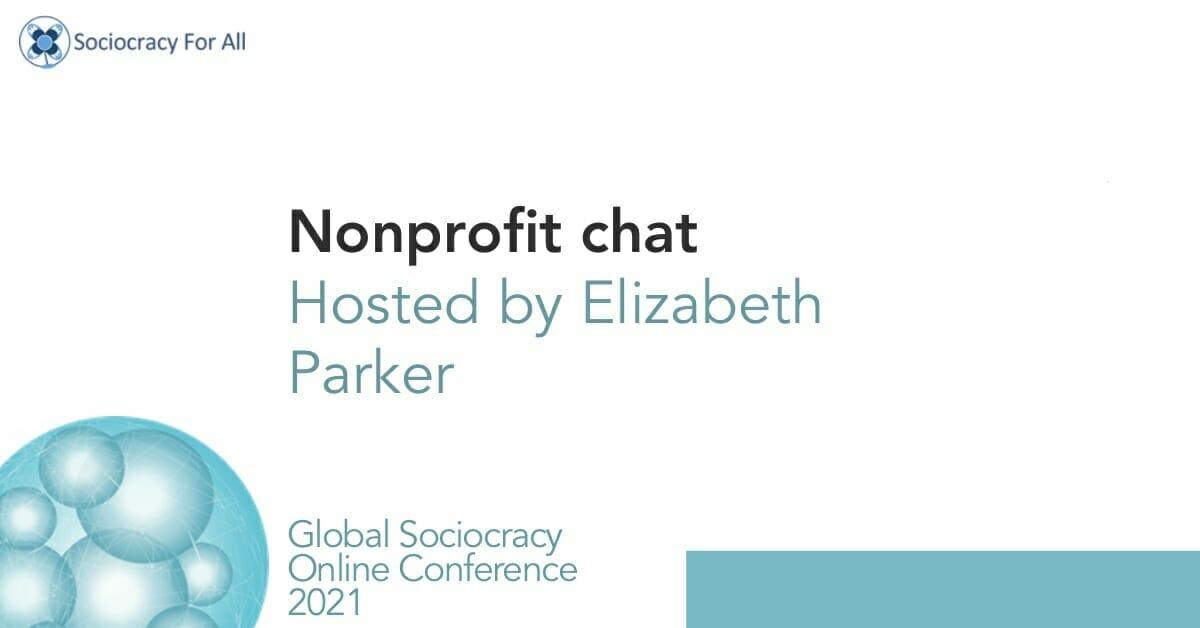 Non-profit chat