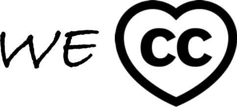 "We ""heart"" Creative Commons"