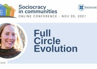 Full Circle Evolution (Cate de Vreede)
